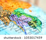 thailand asia isolated focus... | Shutterstock . vector #1053017459