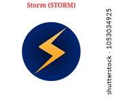 vector storm  storm  digital...   Shutterstock .eps vector #1053034925