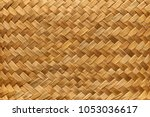 Flax Weaving Background  Mat...