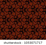 stylish geometric background.... | Shutterstock .eps vector #1053071717