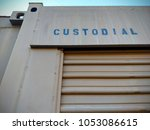 metal storage unit spray... | Shutterstock . vector #1053086615
