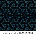 stylish geometric background.... | Shutterstock .eps vector #1053109934