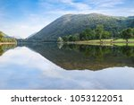 lake in northern italy. lake... | Shutterstock . vector #1053122051
