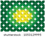 green leaf abstract background | Shutterstock .eps vector #1053129995