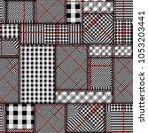 seamless vector pattern.... | Shutterstock .eps vector #1053203441