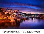 agios efstratios island  north...   Shutterstock . vector #1053207905