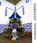 trinidad  sancti spiritus cuba ... | Shutterstock . vector #1053208955