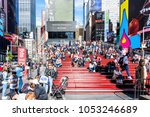 new york city  usa   october 28 ... | Shutterstock . vector #1053246689