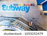 new york city  usa   october 28 ... | Shutterstock . vector #1053252479