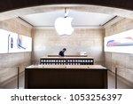 new york city  usa   october 29 ... | Shutterstock . vector #1053256397