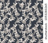 seamless fashion dark grey and...   Shutterstock .eps vector #1053283265