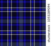 seamless plaid pattern in black ... | Shutterstock .eps vector #1053289094
