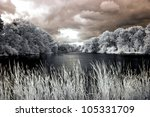 Lake In Infrared