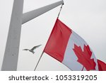 Waving Candian Flag With...