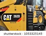 kaunas  lithuania   march 23 ... | Shutterstock . vector #1053325145