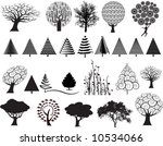 choice of 26 vector trees in a