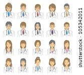 people | Shutterstock .eps vector #105342011