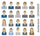 people | Shutterstock .eps vector #105342035