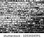 texture of a brick wall.... | Shutterstock . vector #1053434591