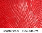 leather products. red leather.   | Shutterstock . vector #1053436895
