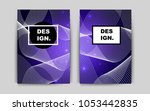 dark purple vector banner for...