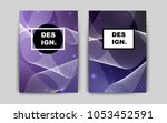 dark purple vector template for ...
