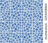 abstract vector seamless... | Shutterstock .eps vector #1053458864