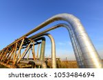 oil pipes  outdoors | Shutterstock . vector #1053484694
