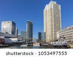rotterdam  the netherlands  ... | Shutterstock . vector #1053497555