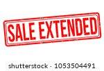 sale extended grunge rubber... | Shutterstock .eps vector #1053504491
