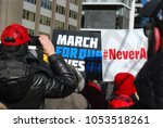 march 24 2018  march for our... | Shutterstock . vector #1053518261
