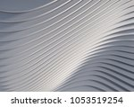 a 3d rendered abstract...   Shutterstock . vector #1053519254