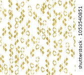 abstract geometric gold... | Shutterstock . vector #1053540851