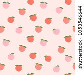 Pink Peach Seamless Pattern....