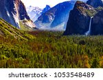 Half Dome And Bridal Fall In...