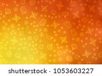 light red  yellow vector... | Shutterstock .eps vector #1053603227