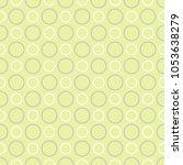 seamless pattern  polka dot...   Shutterstock .eps vector #1053638279