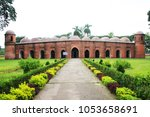 Small photo of The Sixty Dome Mosque or Shaá¹ Gombuj Moshjid also known as Shait Gambuj Mosque or Saith Gunbad Masjid, a UNESCO World Heritage site. Bagerhat.