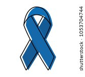 moved color medicine ribbon... | Shutterstock .eps vector #1053704744