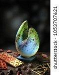 chocolate chocolate candies... | Shutterstock . vector #1053707621