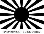 japanese navy flag vector | Shutterstock .eps vector #1053709889