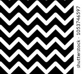 pattern with white zigzags on a ... | Shutterstock .eps vector #1053746597