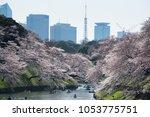 tokyo  japan   march 25th  2018 ...   Shutterstock . vector #1053775751