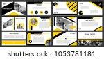 city backgrounds of digital... | Shutterstock .eps vector #1053781181