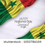 vector illustration of happy... | Shutterstock .eps vector #1053786104