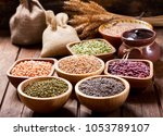 Various Cereals  Seeds  Beans...