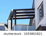 modern high quality balcony... | Shutterstock . vector #1053801821