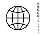 web icon page symbol globe web...
