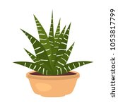 home flower flat icon | Shutterstock .eps vector #1053817799