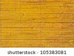 Yellow Iron Fence